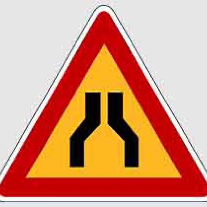 Формат - треугольный знак