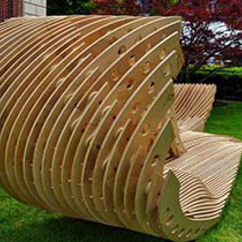 Малая Архитектурная форма из дерева